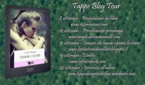 Blogtour calendario- Dimmi chi sei- Winters - Stefania Siano