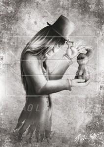 """Dottor A-Z. Personaggio del libro """"Dov'è Alice"""